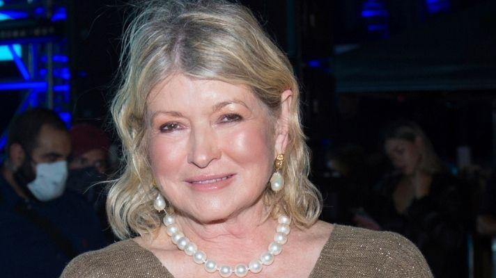 We Need To Talk About Martha Stewart's Bright Blonde Beach Waves