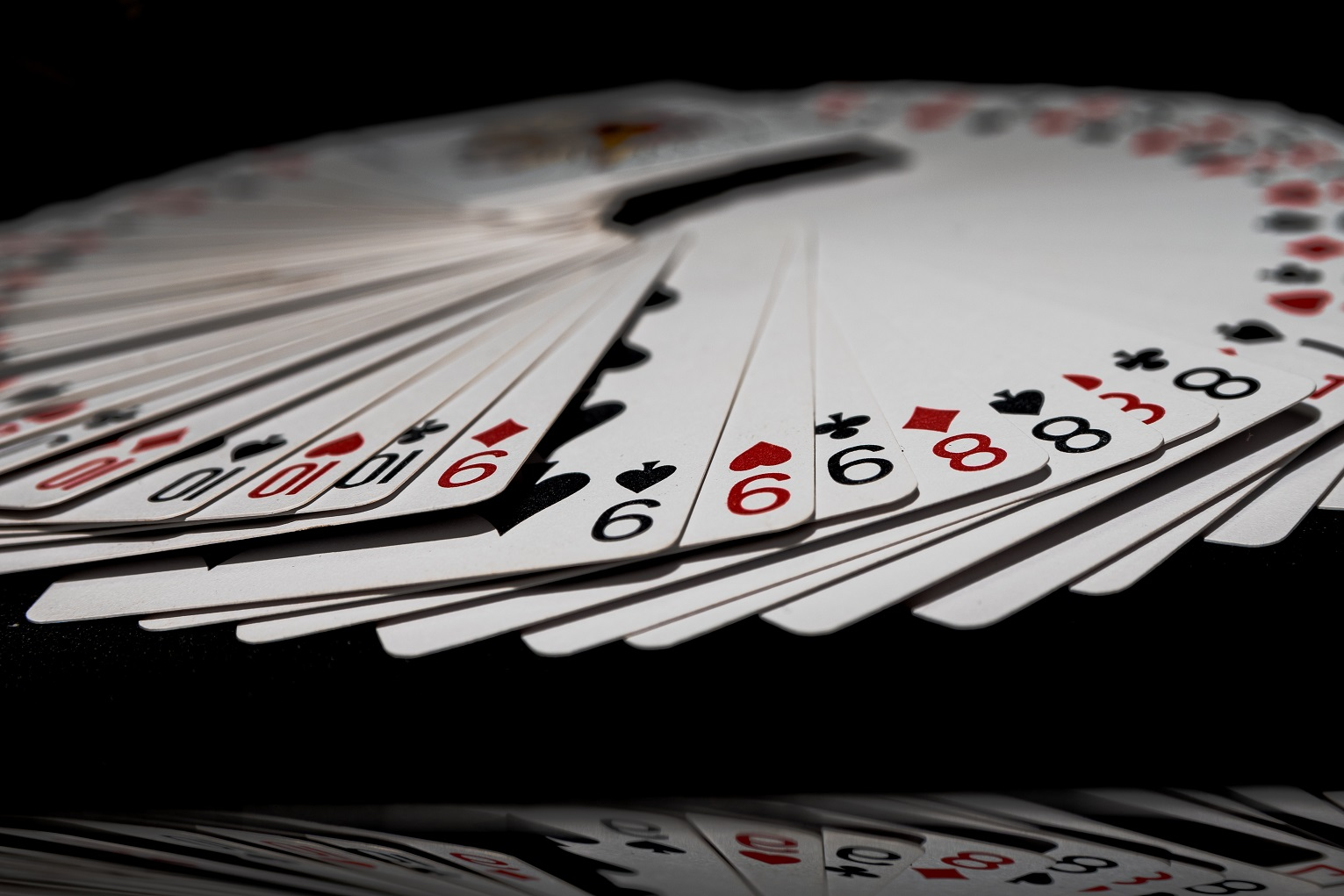 Proof-Of-Stake, cards flying around