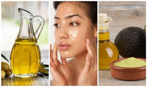 limpieza facial con aceites