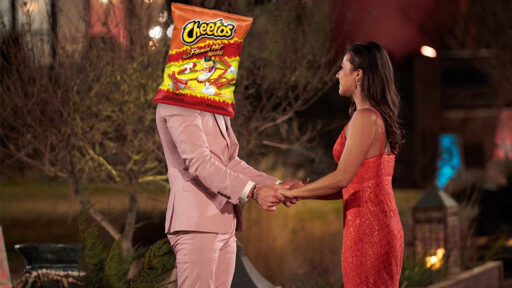 Katie's 'Bachelorette' Premiere Dress Looks Like A Hot Cheeto & I Can't Unsee It