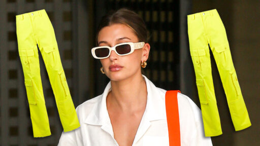 Hailey Bieber Says Highlighter Pants Will Be Summer's Biggest Trend