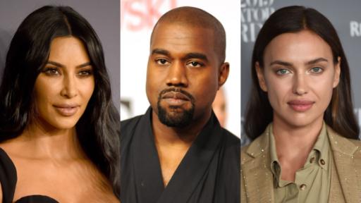 Kim Kardashian, Kanye West, Irina Shayk