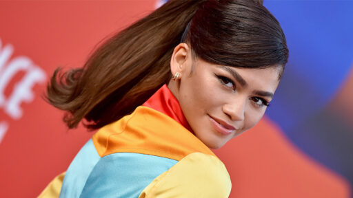Zendaya Dressed As A Rainbow Cowgirl For The 'Space Jam' Premiere