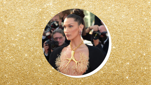 """Bella Hadid Just Wore A """"Lung"""" Necklace At Cannes & I'm Seriously Breathless"""