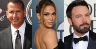 Alex Rodriguez, Ben Affleck, Jennifer Lopez