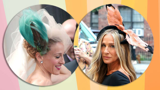 Carrie Bradshaw's Infamous Penchant For Bird Headpieces Lives On