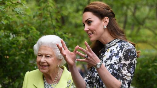 Queen Elizabeth, Kate Middleton